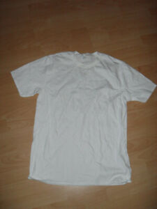 weißes T- Shirt, Unterziehshirt, 100% Baumwolle, NEU, Größe XL