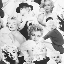 Marilyn Monroe fabric, 50s 1950s retro fabric, rockabilly photo Robert Kaufman