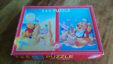 Vintage Winnie the Poo and Piglet Jigsaw - Complete