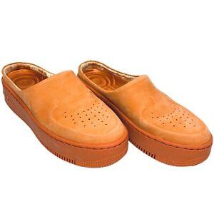 Nike AF1 Lover XX AO Orange Womens Flip Flops Sandals US 6.5 Comfort A01523-800
