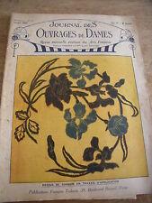 ANCIEN **JOURNAL DES OUVRAGES DES DAMES N° 442  JANVIER 1925