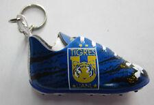 Unisex's Soccer Shoe Keychain Mexico Tigres UNAL, New Metalic Blue Black Tuca