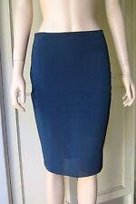 Bec and Bridge: Midnight Blue Skirt Mesh Evening Wear to Work Smart Casual S10
