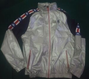 OLYMPICS Team USA 1984 REMAKE PULLOVER JACKET by Kappa MEN'S xxl giacca