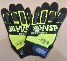 Mechanics Gloves | Hi-Vis | Heavy Duty | High Impact | AVYh | Brand New