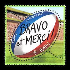France 2011 - Rugby - Bravo et Merci - Sc 4098 MNH