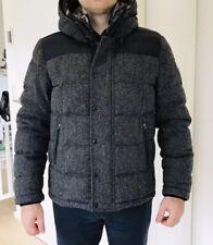 Original MONCLER Jacke NP 1450€!! Herren Daunenjacke Grau Wolle Gr 5 Oder L/XL