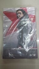 Hot Toys MMS 241 Captain America 2 Winter Soldier Bucky Sebastian Stan NEW