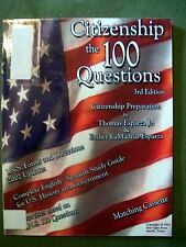 CITIZENSHIP THE 100 QUESTIONS 3rd EDITION 2002 SOFTCOVER