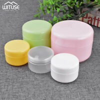 100g 50g 20g Sample Bottle Cosmetic Jar Makeup Cream Lip Balm Containers 5Pcs 6