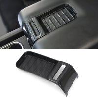 Carbon Fiber Inner Armrest Box Decoration Cover Trim for Toyota Tundra 2014-2020