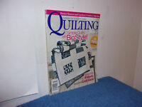 """AMERICAN PATCHWORK /QUILTING MAGAZINE """"SIMPLE QUILTS  BIG STYLE""""  AUGUST.,2006"""