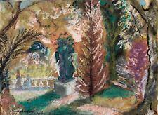 Vichy 1969 Jardin Pastel signé Jérome Colombani