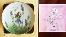 "Villeroy & Boch/Heinrich ""LAVENDER FAIRY"" Cicely M. Barker Flower Fairies Plate"