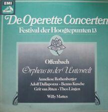 DE OPERETTE CONCERTEN - ORPHEUS IN DER UNTERWELT - PHILHARMONIA HUNGARICA - LP