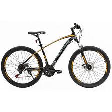 "27.5"" Steel Frame Mountain Bike Dics Brakes 21 Speeds Front Suspension Bicycles"