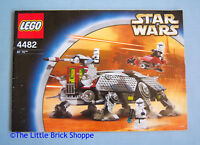 Lego Star Wars 4482 AT-TE - INSTRUCTION BOOK ONLY (4193292) - No Lego