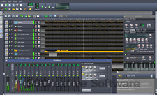 Music studio de production multi-track édition enregistrement logiciel de mixage fl