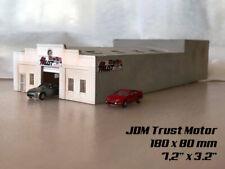 N Scale Laser Cut garage building JDM Trust Motor