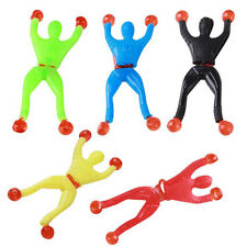 5PCS Funny Sticky Wall window Climbing Flip Rolling Men Climber Children Kid Toy