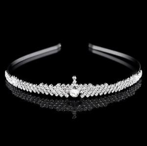 Accessoires Cheveux Mariage Diadème Princesse Couronne De Strass