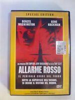 DVD- ALLARME ROSSO-WASHINGTON/HACKMAN-SPECIAL EDITION-OLOGRAMMA TONDO DVD