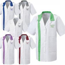 Kittel 1/4 Arm mit Namen bestickt Schwesternkittel Arztkittel Praxis Krankenhaus