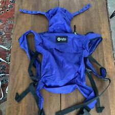 Boba Baby Wrap Nylon Carrier Blue Lightweight Pre Owned