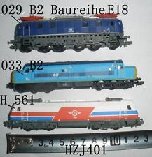 1/160 CIL LOC 029 B2 Baureihe E18 (ONLY DARK BLUE ONE LEFT)  ELECTRIC  TRAIN