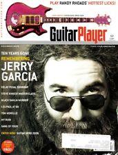 Guitar Player Magazine December 2005 Jerry Garcia, Randy Rhoads, Les Paul At 90