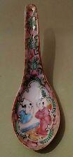 Cuillère Porcelaine de Chine Canton Antique Chinese Porcelain spoon Canton