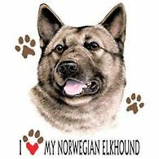 Norwegian Elkhound Love T Shirt Pick Your Size Youth Medium to 6 X Large