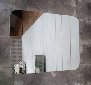 Plain Frameless Rectangular Mirror 50 x 40cm