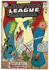 JUSTICE LEAGUE OF AMERICA #18, DC 1963, VF CONDITION