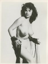 "Eve Eden  By Harrison Marks 6"" x 4"" 1950 Original Nude Pinup Photo  B8049"