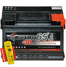 Autobatterie 12V 65Ah 620 A/EN BlackMax 65 ersetzt 55 63 66 70 72 AH