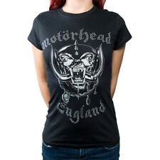 Motorhead Ladies Fashion Tee England Rhinestone Application (large)