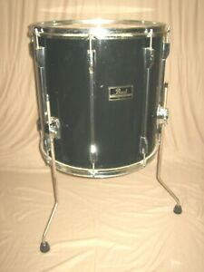 "16"" TomTom ""Pearl Export"" TomTom Standtom Schlagzeug u.Drumset Floortom Trommel"
