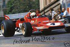 "Formula 1 Driver Arturo Merzario Hand Signed Photo Autograph 12x8"" AH"