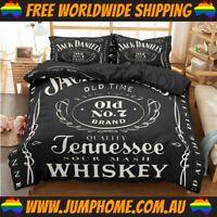 Jack Daniels Bedspread Set - Duvet Cover *FREE WORLDWIDE SHIPPING*