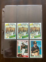 Lot of 5 Topps Ozzie Smith baseball cards 1980 1981 1982