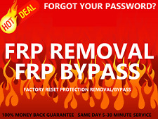 Remote Google Account Bypass Removal, Reset Unlock FRP for LG & SAMSUNG