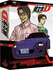 DVD Initial D Stage 4 - Cofanetto 2/2