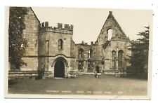 DERBYSHIRE - WINFIELD MANOR FROM THE COURTYARD Real Photo Postcard