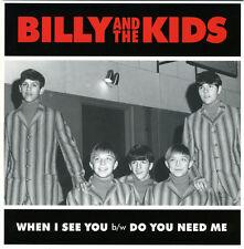 """Billy & los niños cuando veo que Vinilo 7"""" Nuevo Garage Punk de excavación por el oro"""