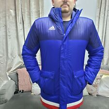 ADIDAS Mens Winter Jacket Outdoor Casual Puffer Padded Coat XS