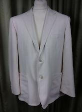 "Marks And Spencer Putty Beige Linen Mix Suit C42S W36"" L27.75"""