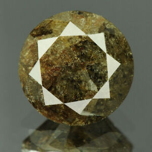 1.85 cts. CERTIFIED Round Cut I3 Brownish Gray Color Loose Natural Diamond 20420