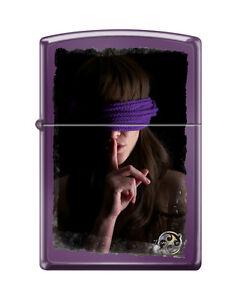 Zippo Lighter Sexy Girl Camilla-Rose Helley by Tony Read Shhhh