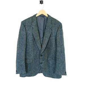 Mens Harris Tweed Blazer Jacket Herringbone Size XL UK 46R EU 56R    #HG1
